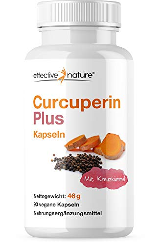 effective nature Curcuperin Plus Kapseln - 90 Stk. - 46g
