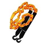Wellz 牽引ロープ 最大破断力 14t 緊急ロープ 緊急時 汎用牽引ロープ フック付