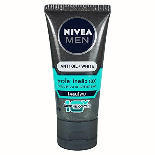 Nivea Men Anti Oil Whitening Mud Facial Foam Cleanser by Nivea