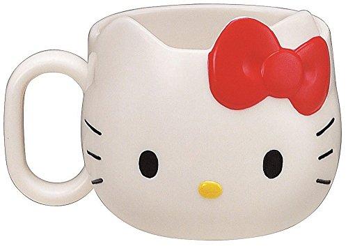 Hello Kitty Face Die-Cut Mug (japan import)