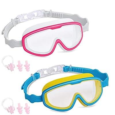 Topselect 2PK Kids Swimming Goggles, Child (Age...