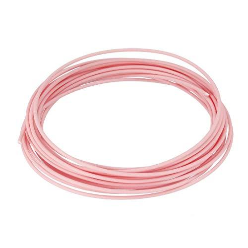 Recargas de filamento para bolígrafo 3D, 16 pies, recambios de filamento PCL 1,75 mm, precisión dimensional +/- 0,02 mm, para impresora 3D, color rosa