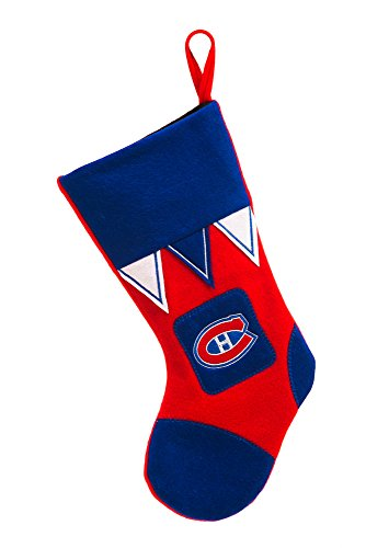 Team Sports America Montreal Canadiens Microfleece Christmas Stocking