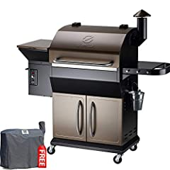 ★ULTIMATE 8-IN-1--Barbecue wood fire pellet grill: grill, smoke, bake, roast, sear, braise, barbeque or char-grill ★PELLET GRILL TECHNOLOGY--★ FLAVOR--There just isn't an easier way to get the flavor of wood smoked food than with a pellet grill. Try ...