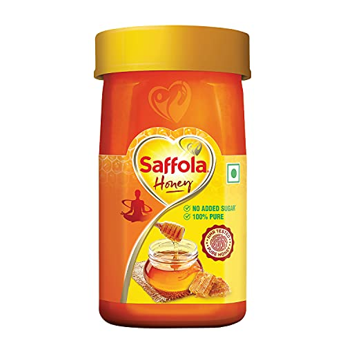 Saffola Honey, 100% Pure NMR tested Honey, 250g