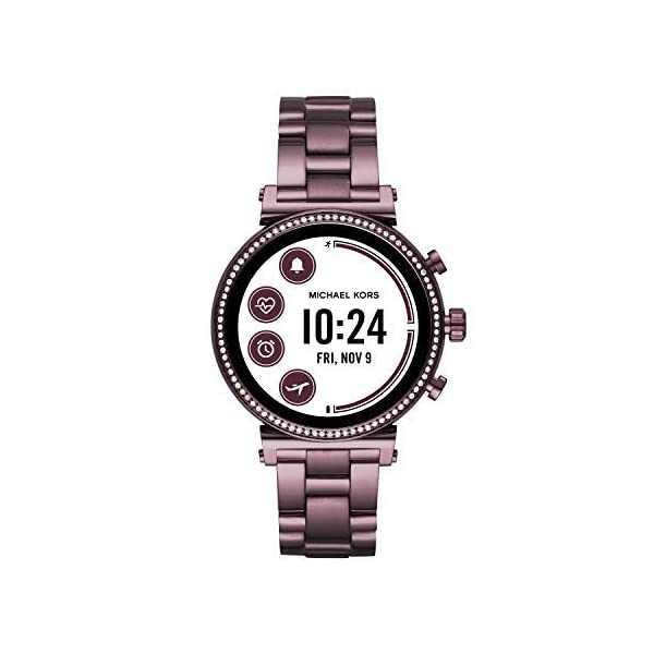 Fashion Shopping Michael Kors Access Gen 4 Sofie Smartwatch- Powered with Wear OS by Google with Heart