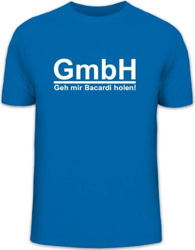 Shirtstreet24, GEH\' Mir Bacardi Holen! Herren T-Shirt Fun Shirt Funshirt, Größe: 3XL,royal blau