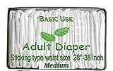 BU Adult Diapers (Medium) - Pack of 20 Pieces