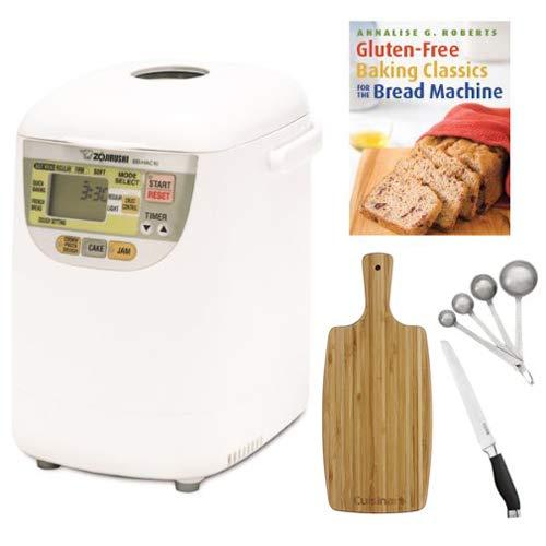 Zojirushi BB-HAC10 Mini machine à pain avec planche à découper et couteau à pain