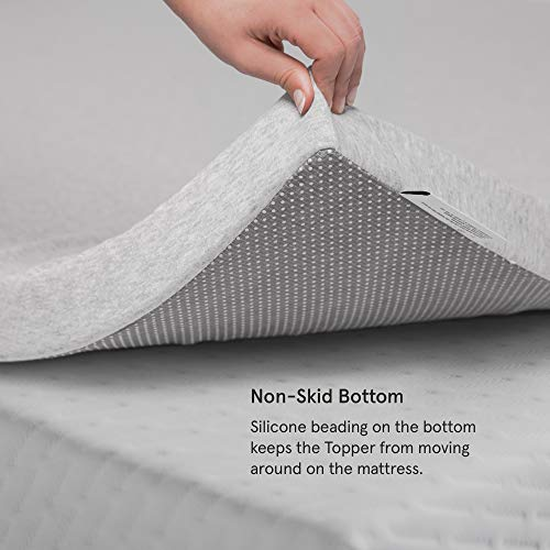 TUFT & NEEDLE - Queen 2 Inch Breathable, Supportive Adaptive Foam Mattress Topper, CertiPUR-US