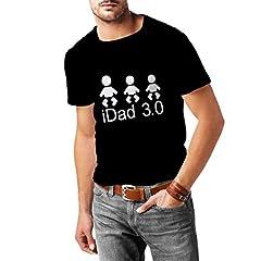 Camisetas Hombre IDad 3 Mejores Regalos de papá él Regalos del día de Padre