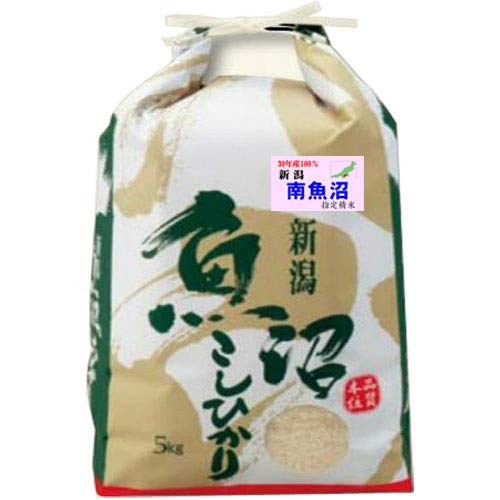 令和 元年産 魚沼産 コシヒカリ 5kg 新潟県 南魚沼 指定米 (玄米のまま(5kg))