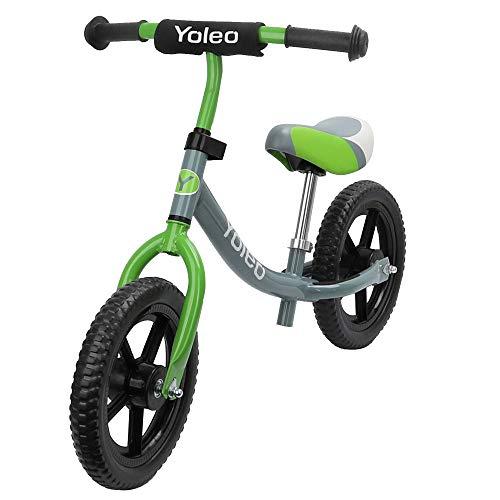 YOLEO Laufrad 360° drehbar Lenker höhenverstellbar Lauflernrad Kinderrad für Jungen und Mädchen Kinder 2, 3, 4, 5 Jahre bis zu 30 kg