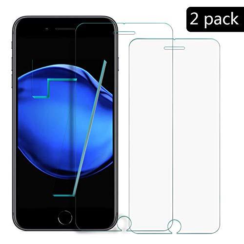 XCYYOO [2-Pack]para iPhone 6 Plus/iPhone 6S Plus Protector de Pantalla, Cristal Vidrio...