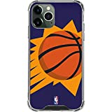 Skinit Clear Phone Case Compatible with iPhone 12 Pro Max - Officially Licensed NBA Phoenix Suns Large Logo Design