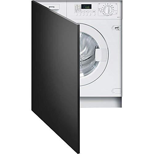 Smeg LST107-2 Integrado Carga frontal 7kg 1000RPM A++ Color blanco - Lavadora (Integrado, Carga frontal, Color blanco, Izquierda, LED, 110°)