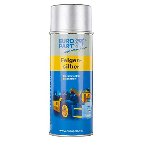 Acrylharzlack | FELGEN-SILBER | RAL 9006 | 0,4 l | Felgen | Silber | Aufbereitung | Lack | lackieren | Acryl | Trecker | Traktor | Schlepper | Agrar