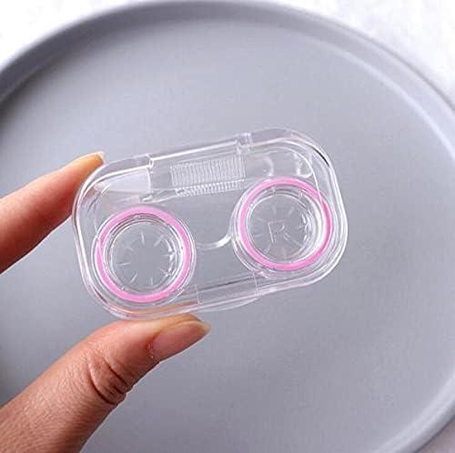 AriesD - Mini Contact Lens Case Make Pocket Portable Albuquerque Mall Easy Carry Max 56% OFF