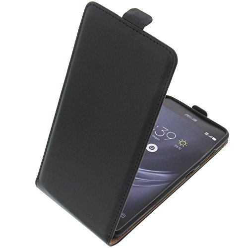 foto-kontor Tasche für Asus ZenFone AR ZS571KL Smartphone Flipstyle Schutz Hülle schwarz