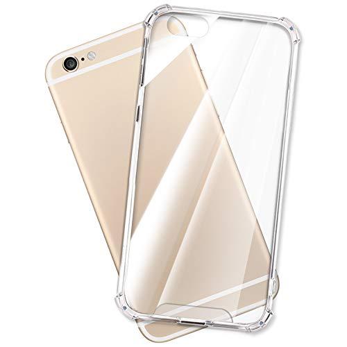 mtb more energy Funda Crystal Armor para Apple iPhone 6, 6S (4.7'') - Tapa Dura & Bordes Suaves - Esquinas reforzadas - Carcasa Anti Shock Cover Case Estuche