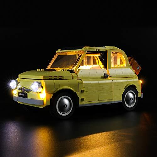 LIGHTAILING Licht-Set Für (Creator Expert FIAT 500) Modell - LED Licht-Set Kompatibel Mit Lego 10271(Modell Nicht Enthalten)