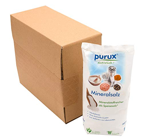 purux Punjab Salz Mühlensalz pink (Himalaya Style) 1kg nachhaltig verpackt