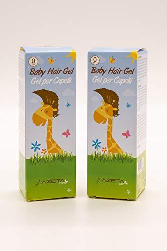 Gel para el cabello ***Nuevo formato 2020*** - AZETABIO - Línea Bimbi (Airless 50 ml) (2 geles formato Airlis)