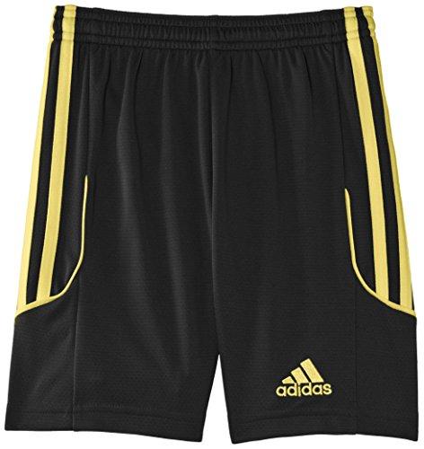 adidas Kinder Squadra 13 Shorts Mit Innenslip, Black/Sunshine, 128