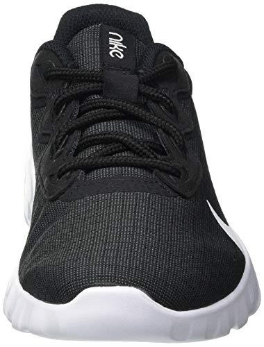 Nike Wmns Explore Strada, Zapatillas para Correr Mujer, Black/White, 45 EU