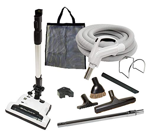 35' Deluxe Galaxy Central Vacuum Kit with Hose,...