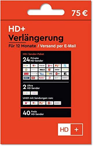 HD+ Plus Verlängerung 12 Monate für alle Karten HD01,02,03,04,05