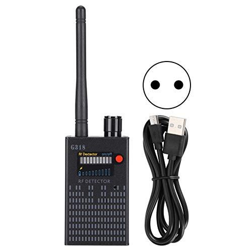 Valentine\'s Day PresentDigitales Empfangsmodul Mini-Kamera-Detektor Hochfrequenz-Detektor Genaue Auto-Tracker für Abhörgeräte Büro für drahtlose Kameras(European regulations)
