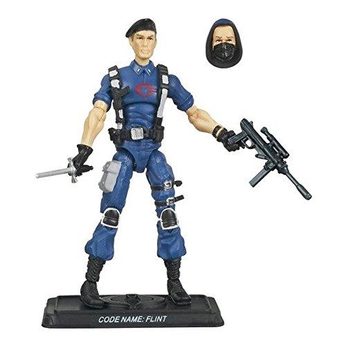 "G.I. JOE Hasbro 3 3/4"" Wave 11 Action Figure Cobra Flint (Warrant Officer In Cobra Disguise)"