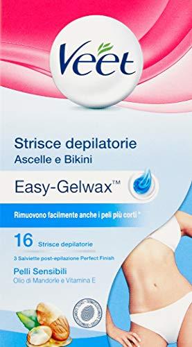 Set 12 VEET Strisce Ascelle-Bikini Pelli S. * 16 Pezzi Cura del corpo