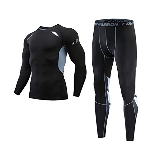 Yowablo Arbeitsschutzhose Berufsbekleidung Jeanshose Schlupfjeans Overall Jumpsuit Trainingsanzug Trainingshose Jogpants Sportanzug Jogginganzug (3XL,2- Grau)