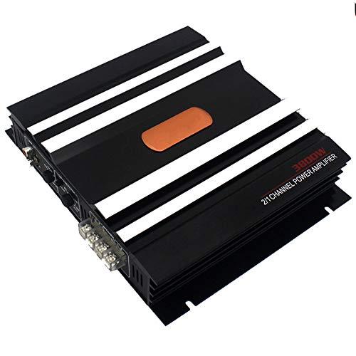 WWMH Amplificador Coche,Luz Indicadora de Trabajo de Fusible de Interfaz MúLtiple de Alta Potencia 3800w 12v
