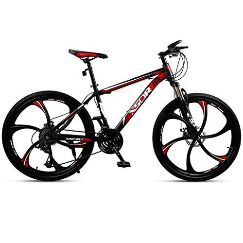 Bicicleta de montaña Mountainbike Bicicleta Bicicleta de montaña, montaña de la bicicleta suspensión delantera, de doble freno de disco y suspensión delantera Tenedor, de 26 pulgadas Ruedas Bicicleta