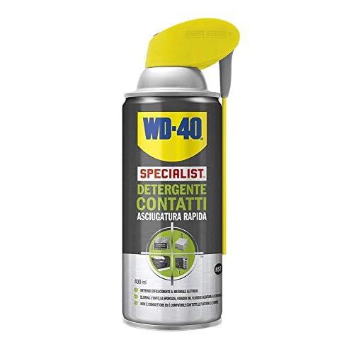Wd-40 39376 Detergente Contatti, Incolore, 400 Ml