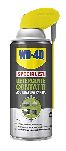 WD-40 Specialist - Detergente Contatti Spray Asciugatura Rapida con Sistema Doppia Posizione - 400 ml