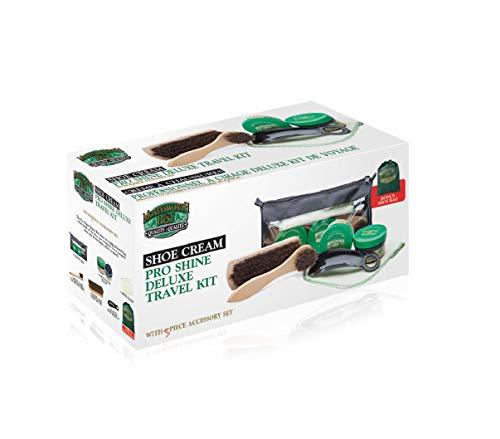 Moneysworth & Best Pro Shine Deluxe Travel Shoe Cream Kit