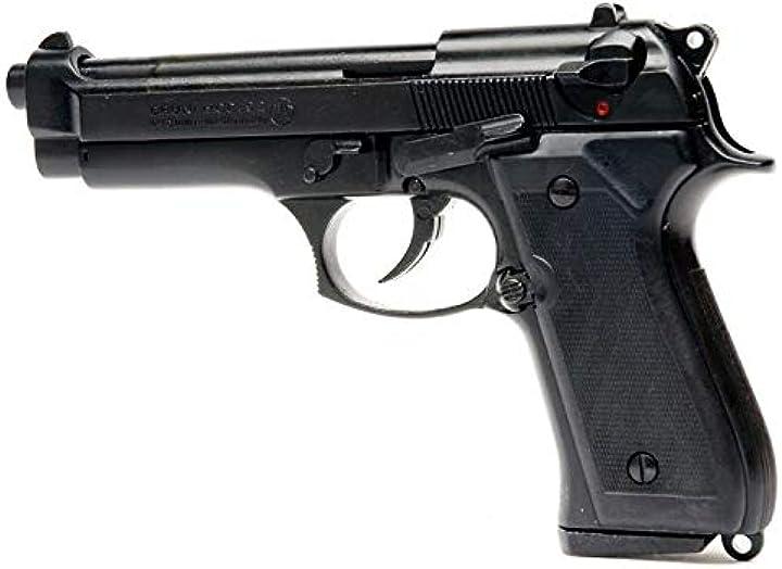 Pistola a salve scacciacani bruni beretta 92 cal.9 pak | top firing | nera B0142K0MAQ