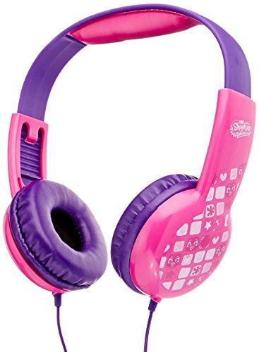 Shopkins Hp2-03033 Kid Friendly Headphones, Pink