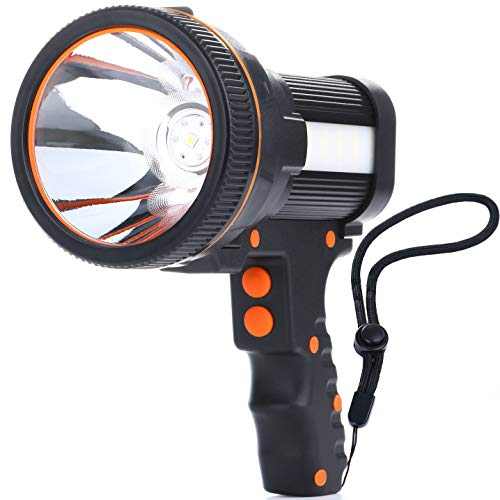 ALFLASH High Power Rechargeable LED Torch Lantern 7000 Lumens 6600 mAh...