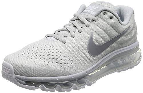 Nike Men's Air Max 2017 White 849559-009 (Size: 8)