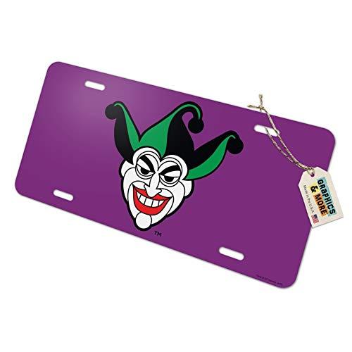 Graphics and More Batman Joker Symbol Novelty Metal Vanity Tag License Plate