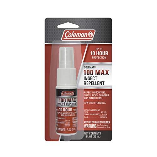 Coleman 100 Max 100% DEET Insect Repellent Spray - 1 fl oz
