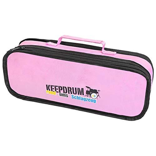 keepdrum Tasche für Glockenspiele gepolstert für Sonor-Modelle Pink