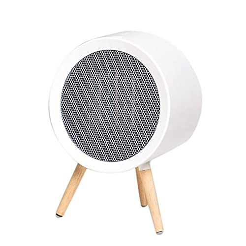mengmeng home Mini Calentador, Calentador de Dibujos Animados de Escritorio pequeño, Calentador de energía pequeño de Escritorio de Oficina (Blanco)