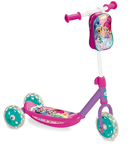 Mondo- Monopattino Baby 3 Ruote My First Scooter Shimmer & Shine, 18465