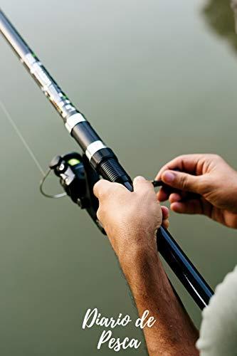 Diario de Pesca: Cuaderno de Pesca | Con Espacio Para Apuntar Todos los Detalles | Fecha, Caña y Aparejos, Capturas, Clima... | Regalo Perfecto para Pescadores y Amantes de la Pesca